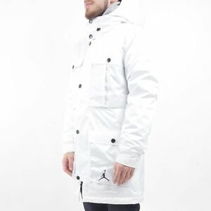 4961fe1ed6fd27 Men s NIKE AIR JORDAN Ultimate Aeroloft Winter 3 in 1 Jacket White ...