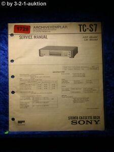 Sony-Service-Manual-TC-S7-Cassette-Deck-1728