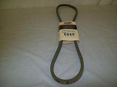 """BELT 6863 GREEN 63 /""""X 1//2/"""" POWER RATED LAWN MOWER GATES V"""