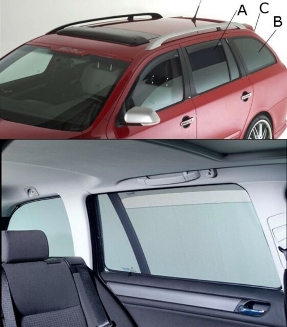 ABC ClimAir Sonniboy Subaru Impreza Typ G4+5HB 5 Türer 2012- Sonnenschutz