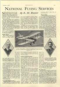 1928 National Flying Services Mod Light Aeroplane Ct Guest Lt Col Edwardes - <span itemprop='availableAtOrFrom'>Bishop Auckland, United Kingdom, United Kingdom</span> - Returns accepted Most purchases from business sellers are protected by the Consumer Contract Regulations 2013 which give you the right to cancel the purchase withi - <span itemprop='availableAtOrFrom'>Bishop Auckland, United Kingdom, United Kingdom</span>