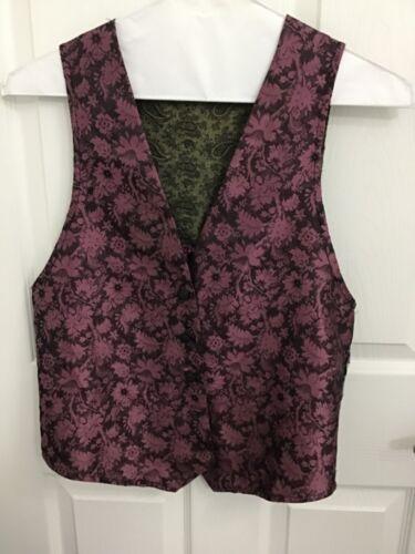 Vintage YOU Babes Multi-Color/Fabric Vest Medium