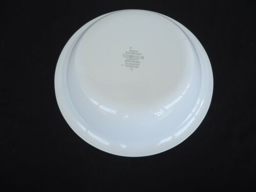 corning ware corelle bella faenza white embossed soup cereal bowl