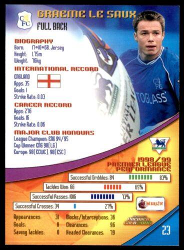 Merlin Premier Dorado 2000-Graeme Le Saux Chelsea no 23