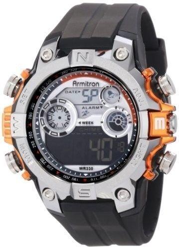 Armitron Pro-Sport Men's Chronograph Digital Sport Watch 49/1023 ORG New In Box