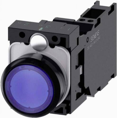Siemens Drucktaster 3SU1102-0AB50-3FA0 IP67//IP69K Komplettgeräte Drucktaster