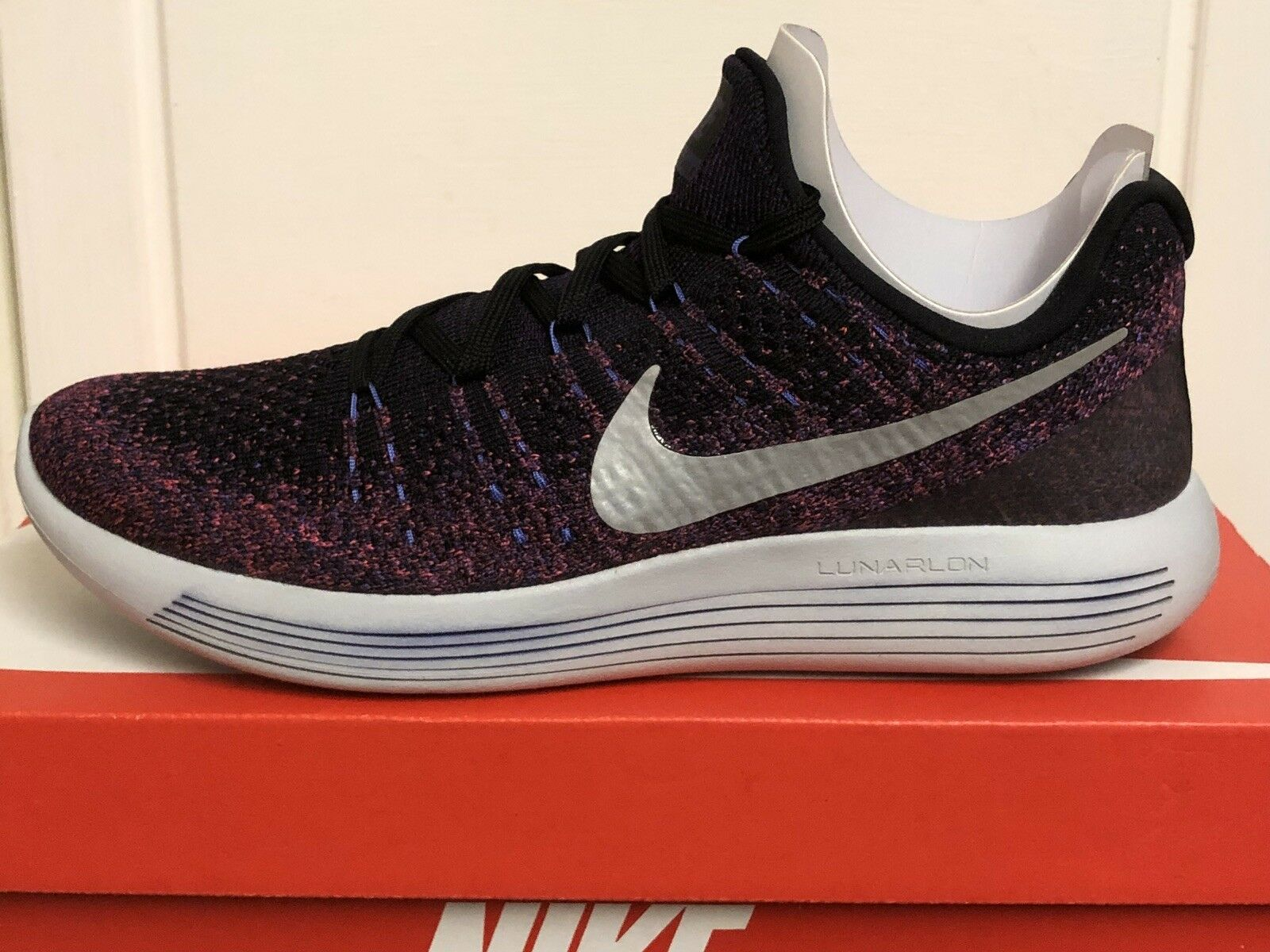 NIKE LUNAREPIC Chaussures LOW FLYKNIT 2 WOMENS Hommes TRAINERS Baskets Chaussures LUNAREPIC 8,5 EUR 43 832aa7