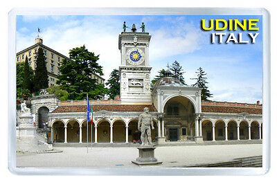UDINE ITALY FRIDGE MAGNET SOUVENIR IMAN NEVERA