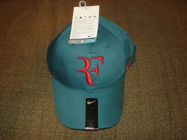 035ea3506a9d2 NWT Nike Federer RF Dri-FIT Legacy 91 Tennis Hat Cap Night Factor  371202-320 NEW
