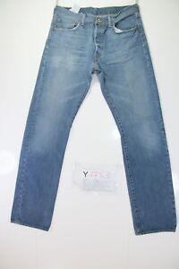 501 Y1783 Taille 47 Code Vintage W33 Tg Levis D'occassion Jeans Haute L34 6pdSqwx1