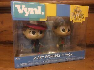 FUNKO VYNL: Mary Poppins New Toys Vinyl Fi Mary /& Jack the Lamplighter 2PK