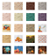 thumbnail 2 - Ambesonne-Autumn-Fall-Decorative-Satin-Napkins-Set-of-4-Party-Dinner-Fabric