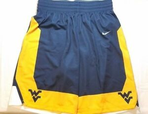Nike-West-Virginia-Mountaineers-Elite-Game-Short-Men-039-s-Large-Blue-802306