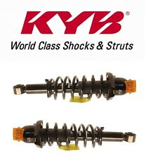 Toyota Corolla L4 1.8L Rear Set Pair of 2 Strut Shock Coil Spring Assemblies KYB