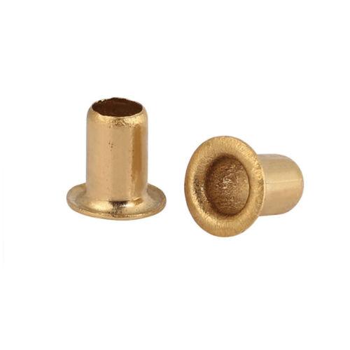 Brass Hollow Rivet Single Tube Rivets Through The Hole Sleeves M0.9 M1.3 M2-M6