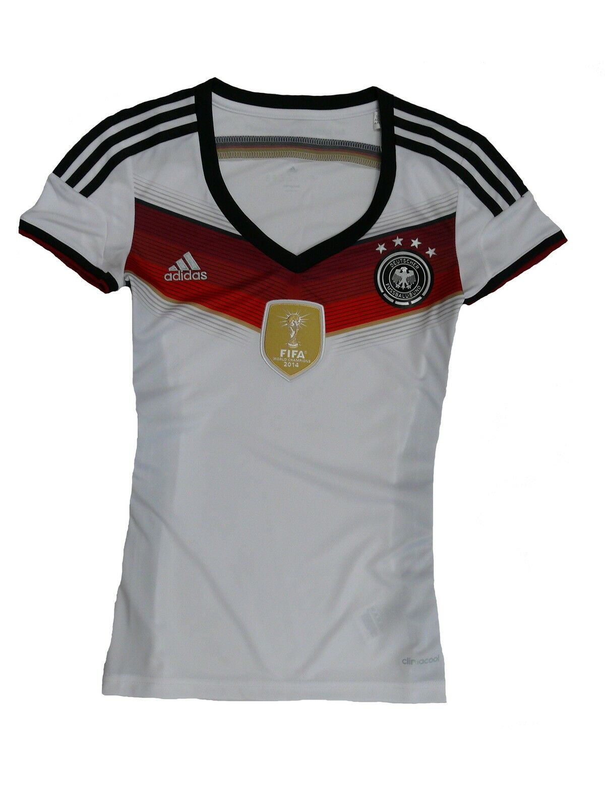 Adidas Germany Ladies DFB Jersey 2014 4 Stars Size 2XS (28)