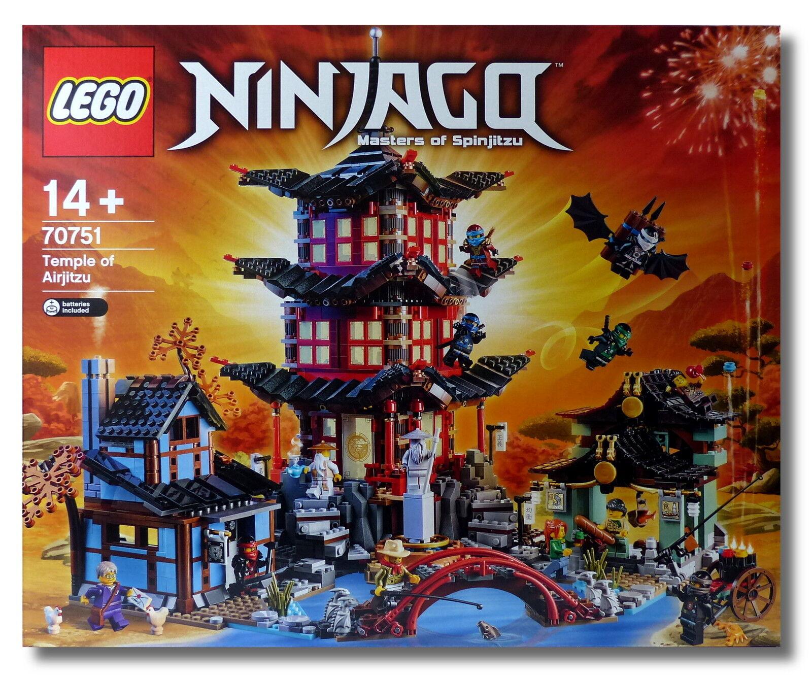 LEGO ® Ninjago ™ 70751  Tempio del airjitzu  esclusivo Set Collector 2015 Nuovo/Scatola Originale