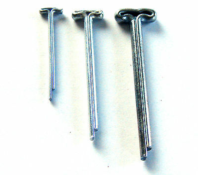 Bärenmacher T-Splinte 2,5 x 28 mm für Teddys 50 T-Kopf-Splinte