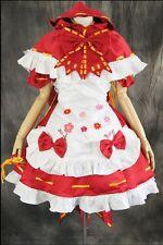 a-229 Maß VOCALOID MIKU HATSUNE Rotkäppchen Cosplay Kostüm costume Kleid dress