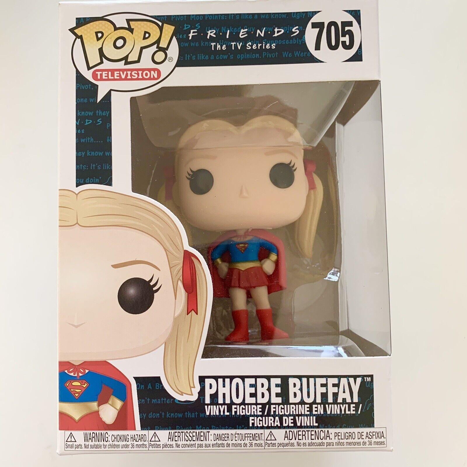 FUNKO Friends Pop! Vinyl Figure Phoebe Buffay Supergirl [705] Minor Box Wear