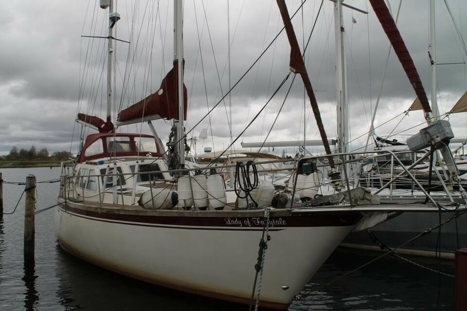 Nauticat 43 - SOLGT/SOLD, årg. 1985, fod 43