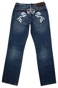 Bruno-Banani-Vaqueros-Ajuste-Recto-Hombre-pantalones-azules-denim-NUEVO-w30-w34