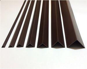 Brown Plastic Pvc Corner 90 Degree Angle Trim 2 5 Meters