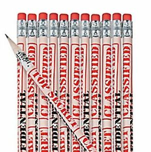 Pack-of-12-Top-Secret-Pencils-Detective-Police-Spy-Party-Loot-Bag-Fillers