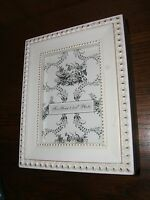 White Decorative Shabby Chic Framed Memory Box (new)