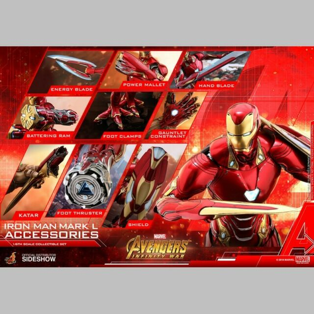 Hot Toys Accessories Collection Series Iron Man Mark L 50 Avengers Infinity War