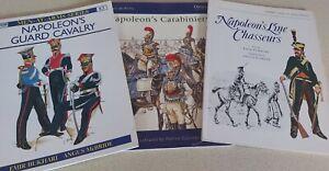 Napoleon's Guard Cavalry Three Books