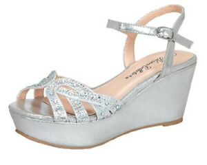 3a1a5fb344 Image is loading Sexy-Lightweight-Strappy-Rhinestone-Sandals-Peeptoe-Comfy- Wedge-
