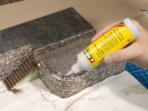 Encore 56665 h0 3d carton plaque toiture 25 x 12,5 cm