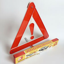 Roadside Warning Sign Reflective Triangle folding Safety Car Alarms Emergency
