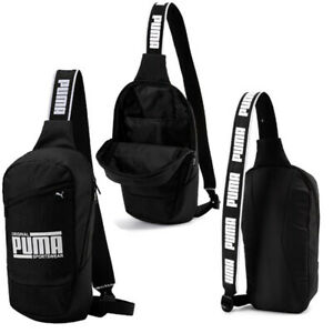 Details about Puma Original Sportswear Sole Cross Bag Black Unisex Backpack  075441 01 A26