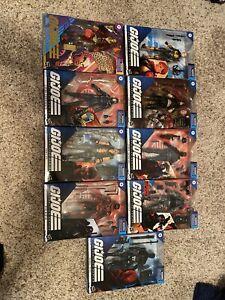 G.I. Joe Classified Series Lot Of 9 NIB Figures