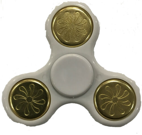 Fidget Toy a mano dito Spinner Acciaio Cuscinetto tasca scrivania FOCUS ADHD Stress