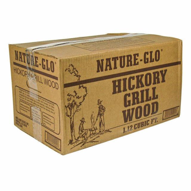 20 Hickory Wood Logs 40.5 lbs.