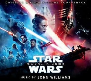 Nuevo-John-Williams-Star-Wars-The-Rise-Of-Skywalker-Japan-CD-Japan-Oficial