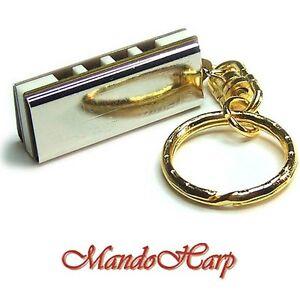 Suzuki-Miniature-Harmonica-K-1200-with-Key-Ring-NEW