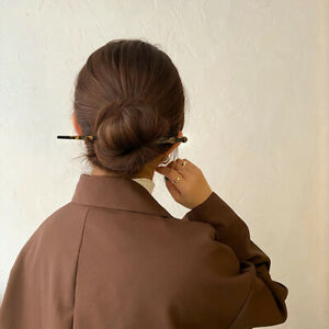 Chinese Style Hair Sticks Vintage Acetate Chopstick Womens Hairpins Hair Clips