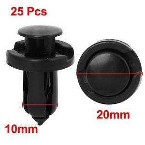 25x-10mm-trou-en-plastique-rivet-garniture-de-vis-de-panneau-pour-Honda-Acura