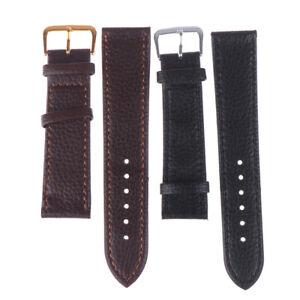 12-22mm-Black-brown-watchband-litchi-stripe-pu-leather-watch-strAB