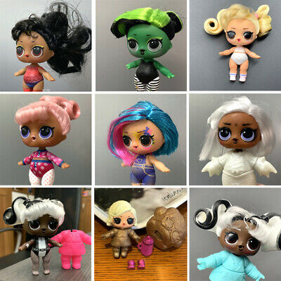 Intellective Lol Surprise Dolls #hairgoals Bhaddie Splatters Snow Bunny Toys - Color Changed