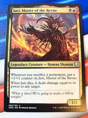 JURI MASTER OF THE REVUE X4 Commander Legends Magic MTG MINT CARD
