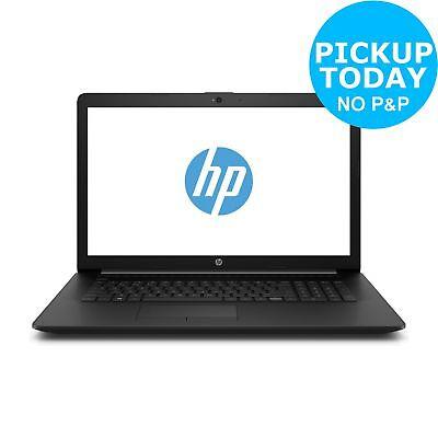 HP 17 Inch AMD A6 9225 2.6GHz 4GB 1TB HDD Laptop - Black