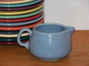 Fiesta-PERIWINKLE-BLUE-Small-Figure-8-Creamer-Discontinued-Color