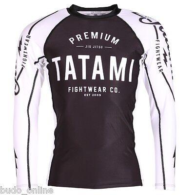 NEW Tatami Premium Rash Guard Long MMA BJJ Compression Top Gym XXL Sale