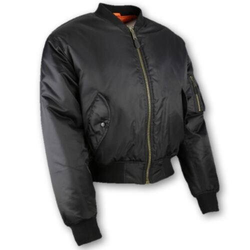 MA1 BOMBER JACKET MENS S-3XL US MILITARY ARMY STYLE COAT PILOT BIKER FASHION KUK