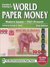 Standard Catalog of World Paper Money, Modern Issues * FREE SHIPPING